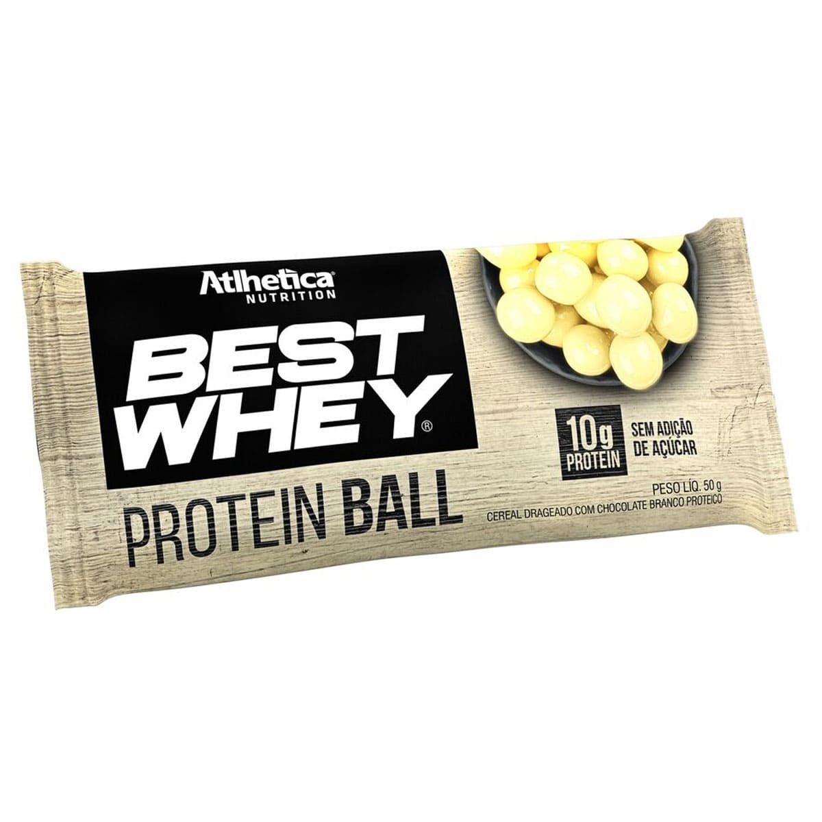 868f659e6 Best Whey Protein Balls (50 g) Chocolate Branco - Athletica Nutrition
