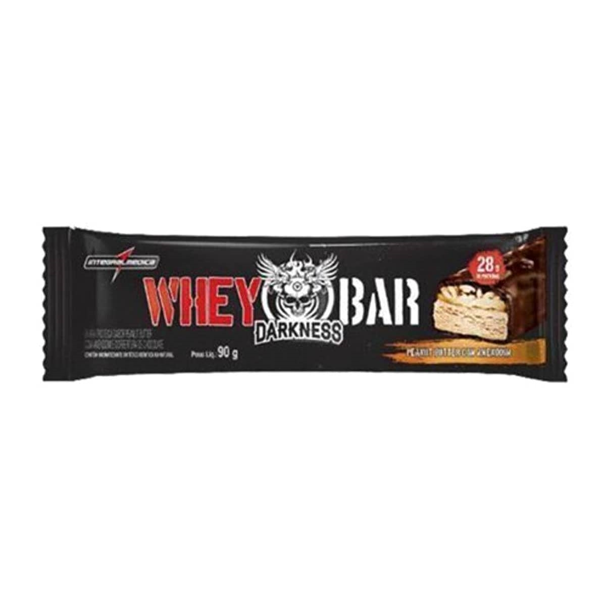 fb3096589 Whey Bar Darkness 90g - Doce de Leite - Integral Medica - Whey Store ...