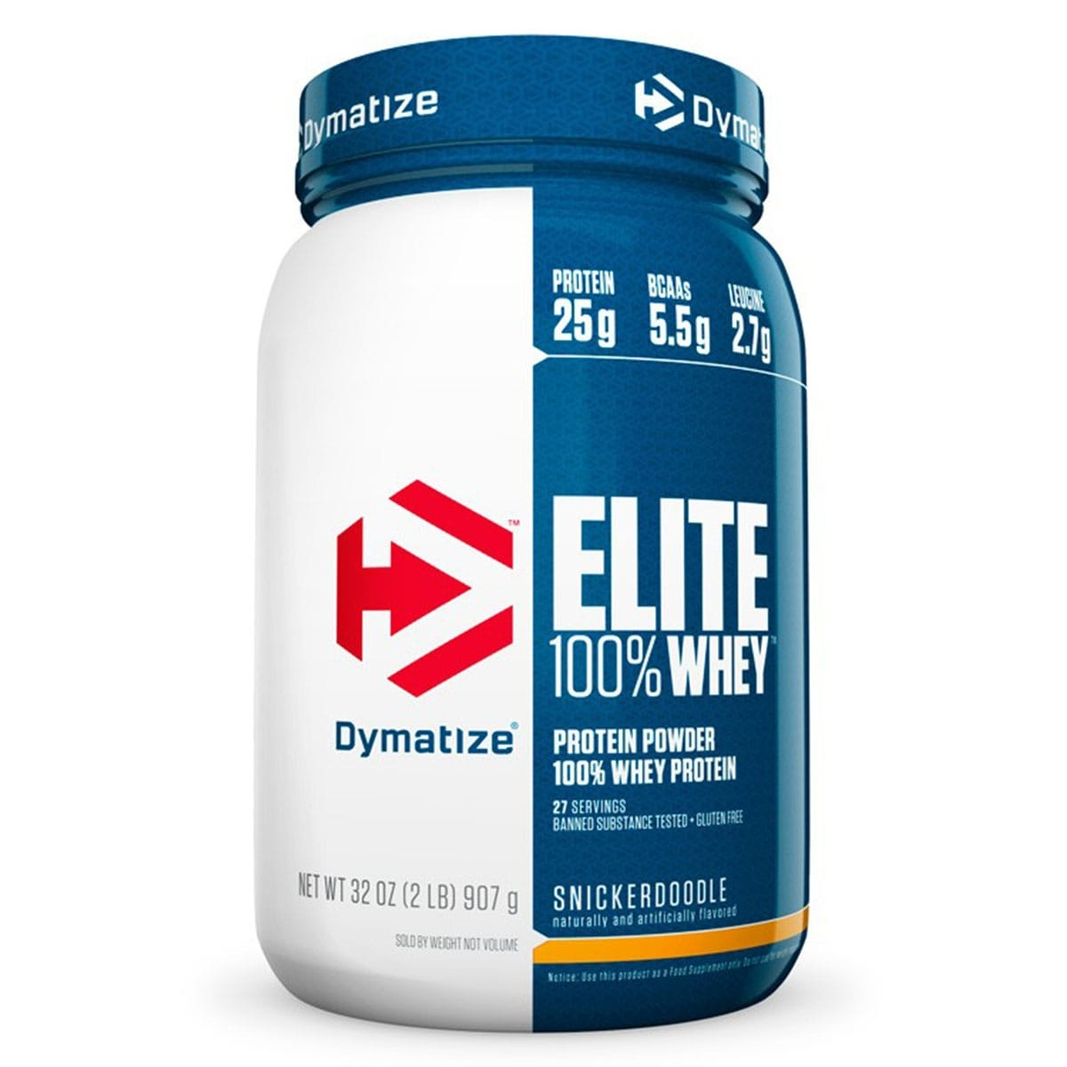 350a495bf Elite 100% Whey Protein Isolate 907g - Dymatize Nutrition - Whey ...
